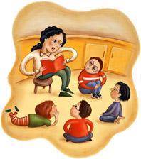 Cuentos en Español--Story Time in Spanish