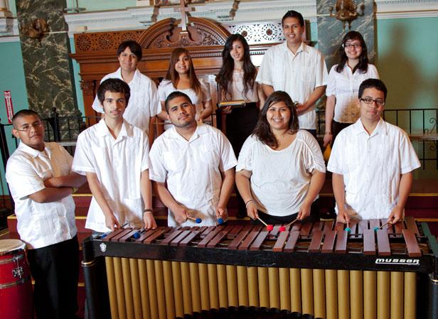 Holy Cross/Immaculate Heart of Mary Marimba Ensemble