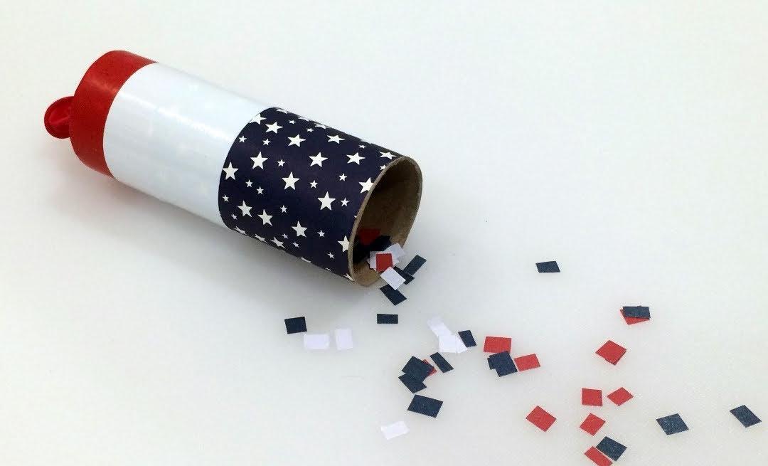 Create Your Own Confetti Cannon!