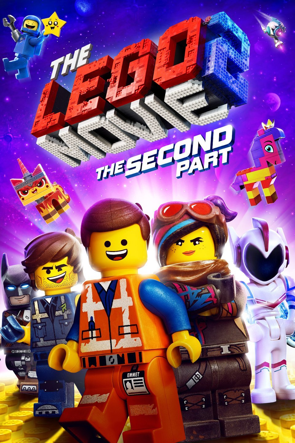 Movie Night:  The Lego Movie 2:  The Second Part