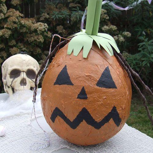 Pumpkin Piñatas