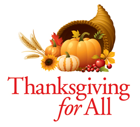 Thanksgiving for All Food Drive!