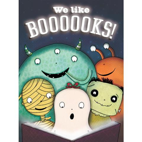 Ghosts and monsters reading.