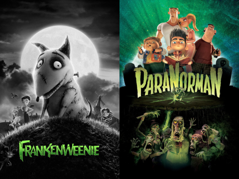 Frankenweenie and Paranorman